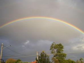 Sai软件手绘简笔画雨后的彩虹