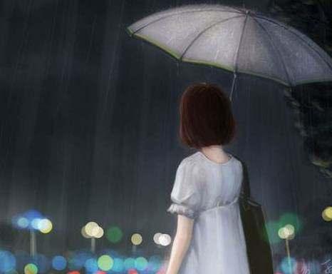 关于雨天的诗句唯美
