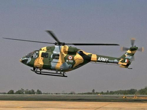资料图:印度军用直升机