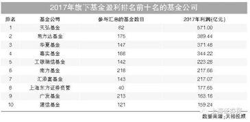 基金公司排行榜前十名(全国基金排名前十名)  股票配资平台  第1张