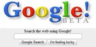 图为:谷歌搜索网页截图-美IT业25大秘密 谷歌名字源于拼写错误