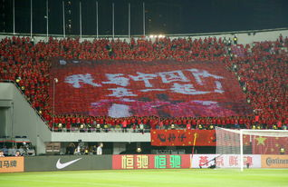 国足世预赛2战狂轰120同袍一心中国红惊艳天体球迷玩嗨了