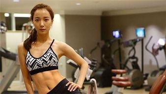 健身比较好的女明星