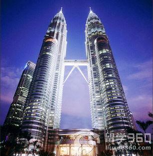 马来西亚地标性建筑双子塔