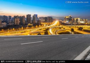郑州郑东立交桥夜景