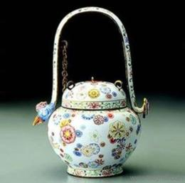 雍乾珐琅彩瓷器