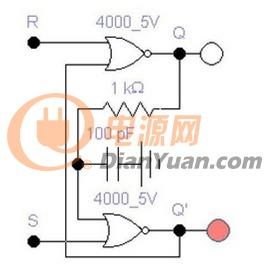 RS触发器的或非门震荡产生与解决