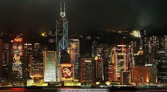 香港夜景高清大图