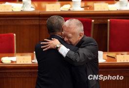 董建华祝贺何厚铧当选全国政协副主席。