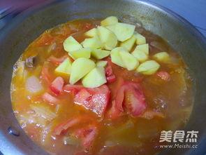 西红柿土豆炖牛肉的美味做法