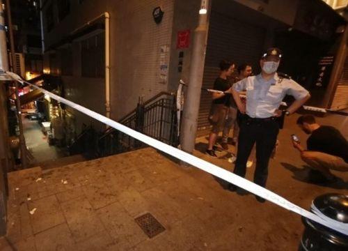 香港闹市惊现爆炸物拆弹专家现场引爆震天巨响