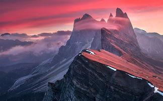 自然自由自在,如云如海如山