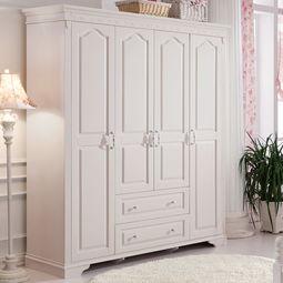 自制简易实木衣柜