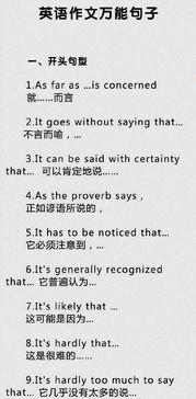 人物介绍英语作文开头句型