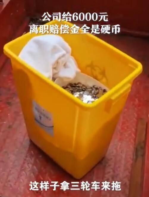 离职获赔6000元硬币女子发声说了什么公司故意装在医疗废物桶里