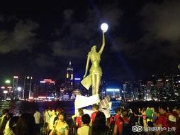 香港星光大道的照片