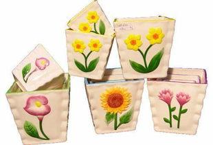 日本养花花盆