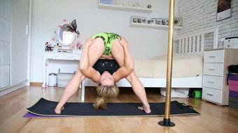 开胯拉筋,为何这么痛苦 瑜伽美女告诉你诀窍