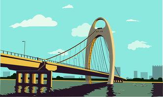 猎德大桥.AI