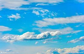 天空的云图片