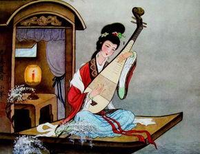 关于唐代琵琶的诗句