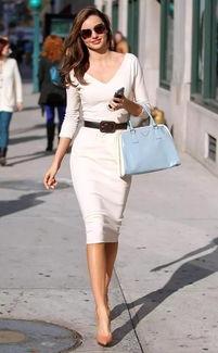 小白裙爆款不一定适合你,根据身材穿对才聪明