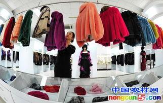 河北省肃宁县全国知名裘皮服装加工出口新区