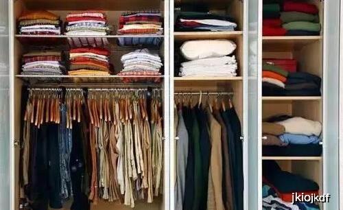 自己家的服装衣柜