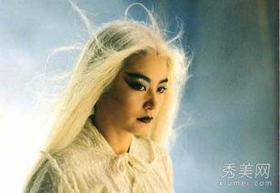 一夜青丝变白头 女星白发造型谁最惊艳