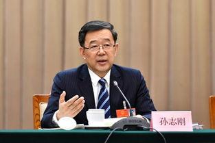 全国人大代表、贵州省委书记、省人大常委会主任孙志刚发言