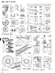 圆形楼梯设计图