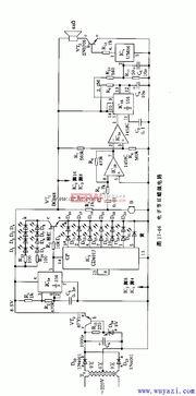 555电子节日蜡烛电路图