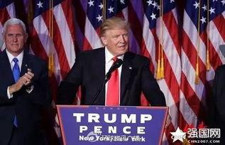 11月9日,特朗普赢得第45届总统大选.
