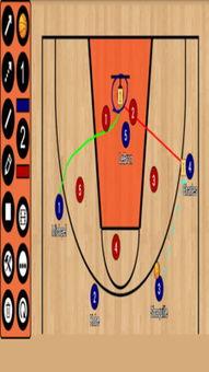 篮球战术板