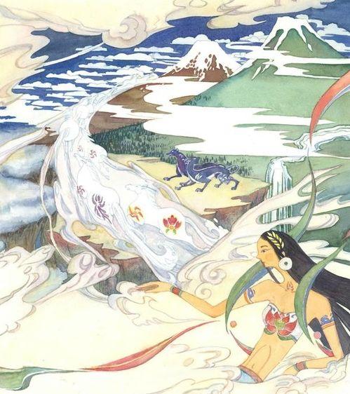 人类祖先伏羲和女娲都是蛇,那后人为什么叫做龙的传人