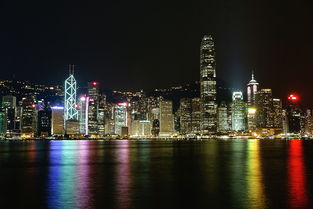 香港星光大道拍夜景