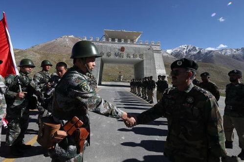 中巴边境的奇特景象巴方对中国不设防,边防官兵亲如兄弟北京时间