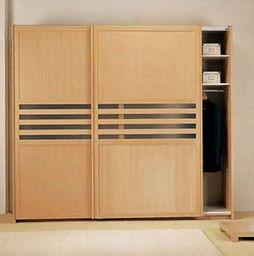 现代衣柜柜门效果图