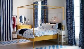 主妇最爱的十二种布艺装饰 卧室夏天使空间挑高