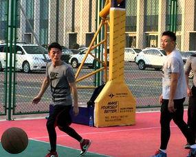 霍建华打篮球