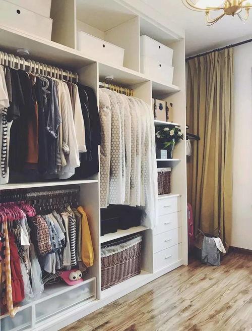衣柜内部分区