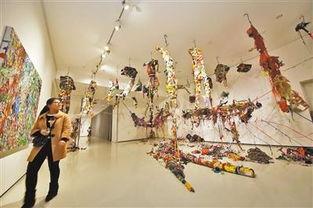 重庆青年美术双年展 废品收购站也能成为人间乐园
