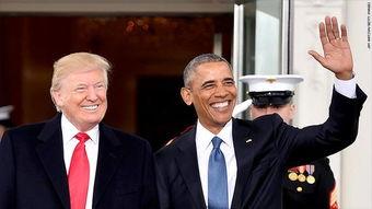 民调奥巴马再度击败特朗普成最受美国人钦佩男性