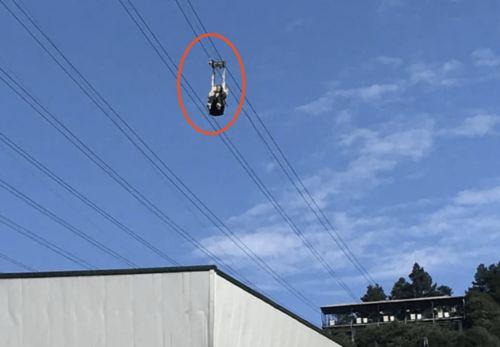 网红景点突发事故,女子高空索道直线坠下,目击者尖叫连连官方发布最新通报
