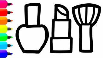 画一个简易香水瓶
