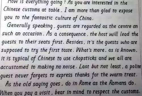 有关美丽的意义的英文作文