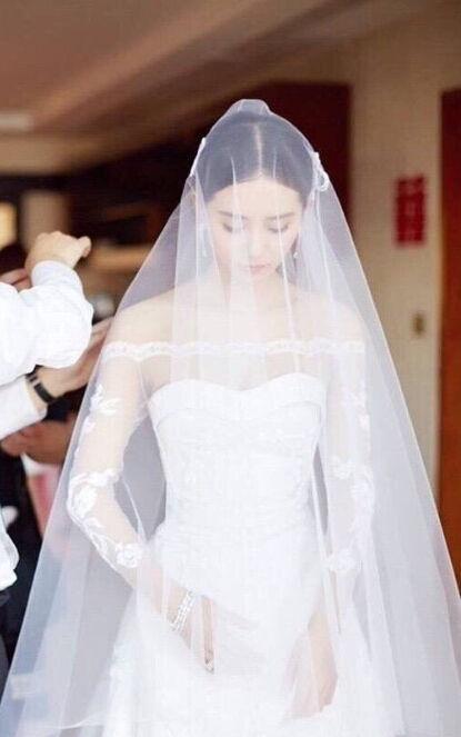 刘诗诗婚礼发型