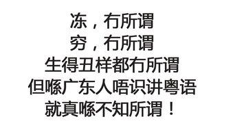 什么意思用粤语怎么说