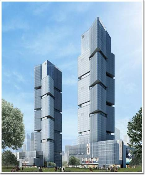 西安合肥郑州绿地中心室内合辑集艾设计,缔造中国城市地标室内美学