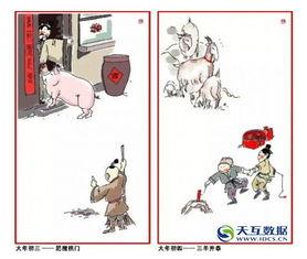 中国人过年习俗完整版,终于找全了快看老祖宗们怎么过年